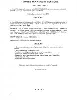 conseil municipal du 11 juin 2020
